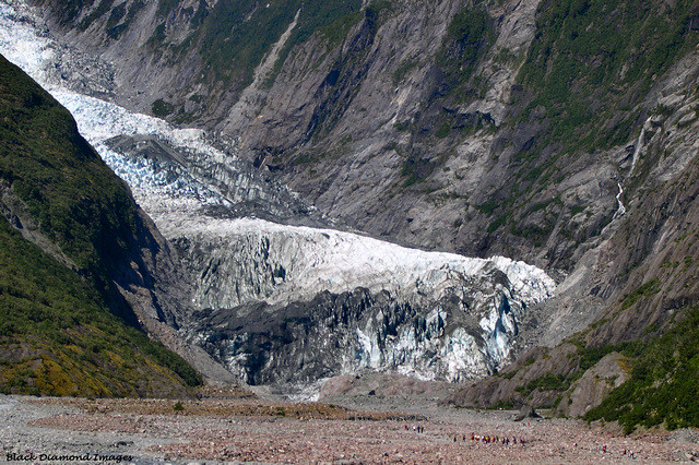 Franz Joseph Glacier (Ka Roimata o Hinehukatere, Westland National Park, South Island New Zealand