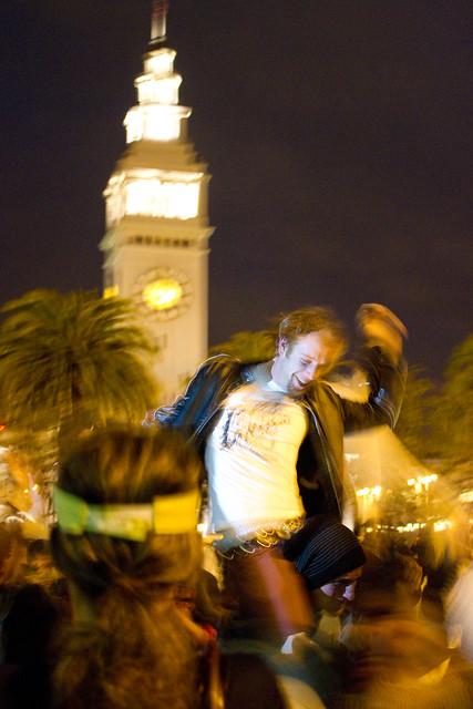 Valentine's Day Pillow Fight 2011: windmill