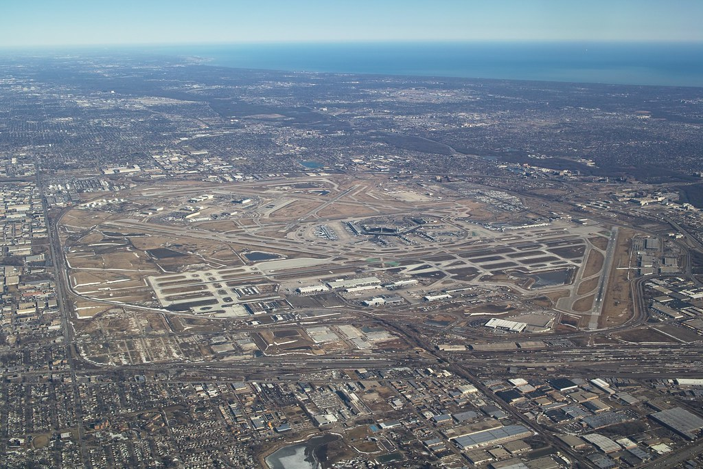 Chicago O'Hare International Airport (ORD) Aerial View | Flickr