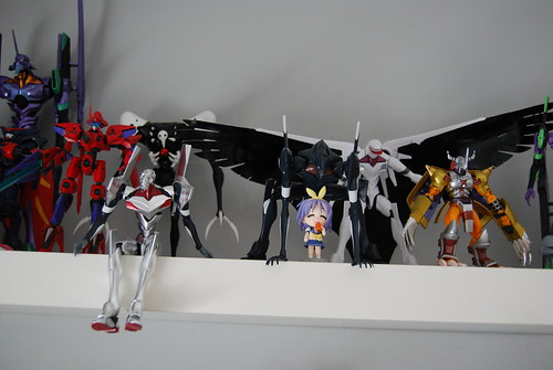 Model kits plus D-Arts Wargreymon | by Plastic_Fantastic