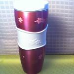 2011年櫻花杯 保溫杯(紅紫色)