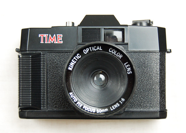 Time Magazine camera - kinetic variant by Boxy Brown's Bling