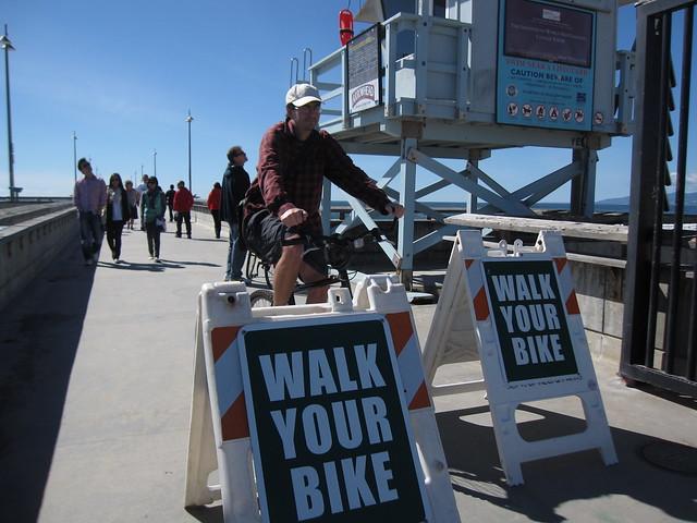 walk your bike