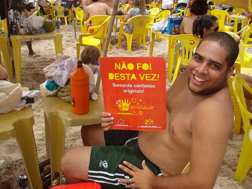 Ação: Cantada Original nas praias de Salvador | by pirata.tofora