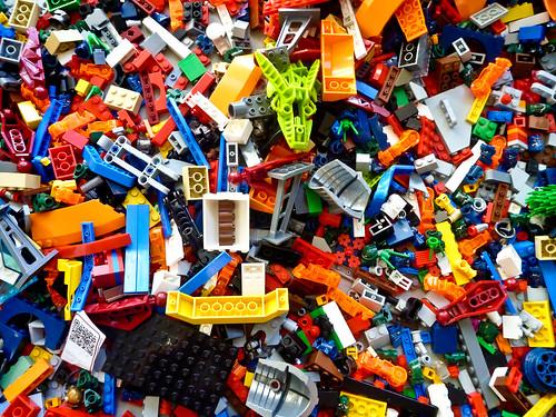 SXSW 2011 Lego Pile - 2 | by EgnaroorangE