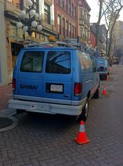 Two Shaw Vans in Gastown