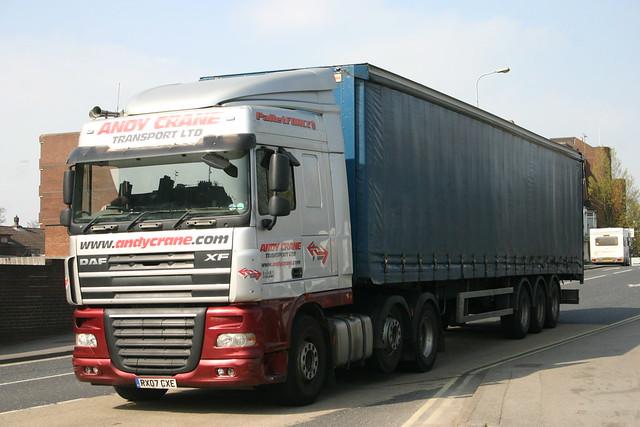 RX07CXE Andy Crane Transport