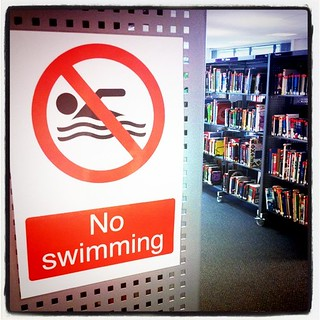 No Swimming | by James F Clay