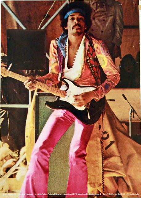 Jimi Hendrix, Fehmarn 1970