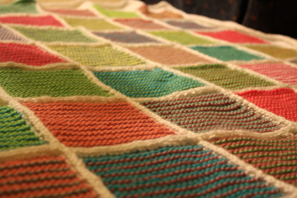 1 29 11 Tunisian Crochet Afghan Finished 29365 Flickr