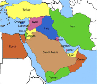 Fox news shows Iraq as Egypt on world map | Posted via email ...