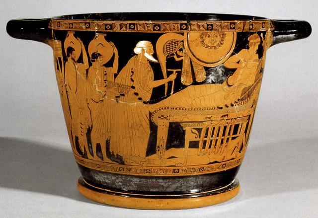 -0485: Príamo suplica a Aquiles por el cadáver de Héctor