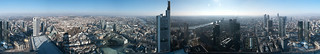 Vistas desde Frankfurt Main Tower - Panorámica | by albertma.