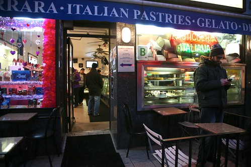 "New York City, Manhattan, Little Italy, "" Pasticceria "" 