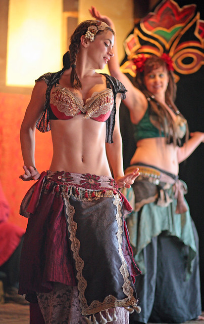 Dancer of Jamila Lotus putting on a great show at the ARF