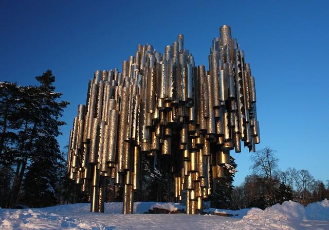 Jean Sibelius monument, last shot