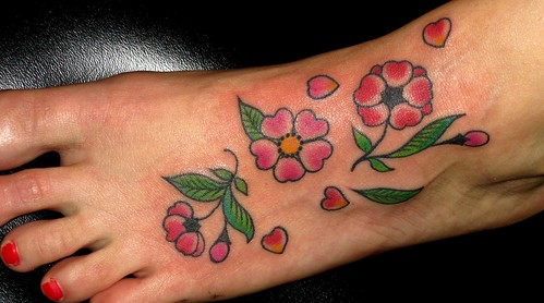Cherry Blossoms | by lizzietattoos