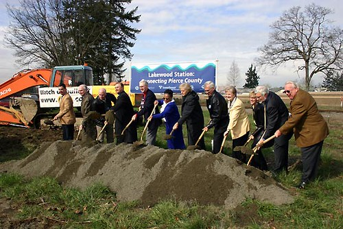 Lakewood Station groundbreaking