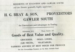 Bray H.G. 57 Adelaide Road Gawler South