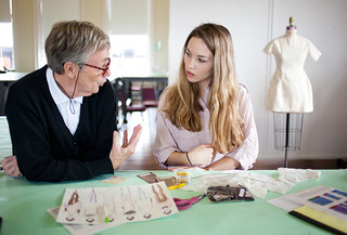 Fashion Critique January Fashion Critiques In Eckburg Hall Savannah College Of Art And Design Flickr