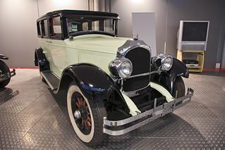 Museum of Automobile History. Chrysler Imperial Series 80. 1927. Salamanca. Castilla y León. Spain