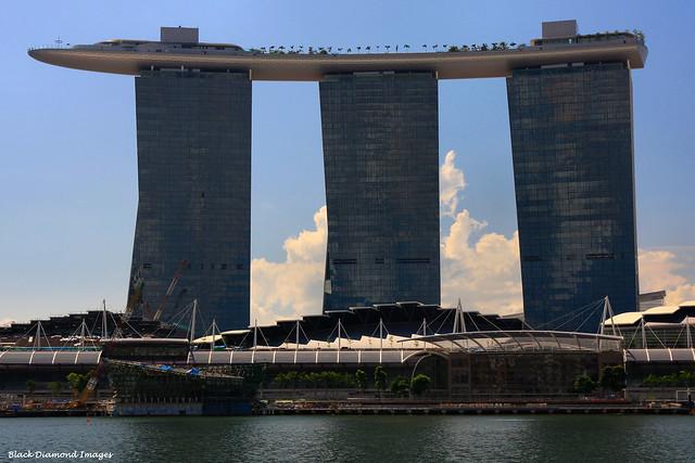 Marina-Bay-Sands Resort Hotel and Casino, Singapore
