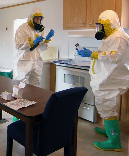 HAZMAT technicians train with National Guard and local emergency response agencies | by Georgia National Guard