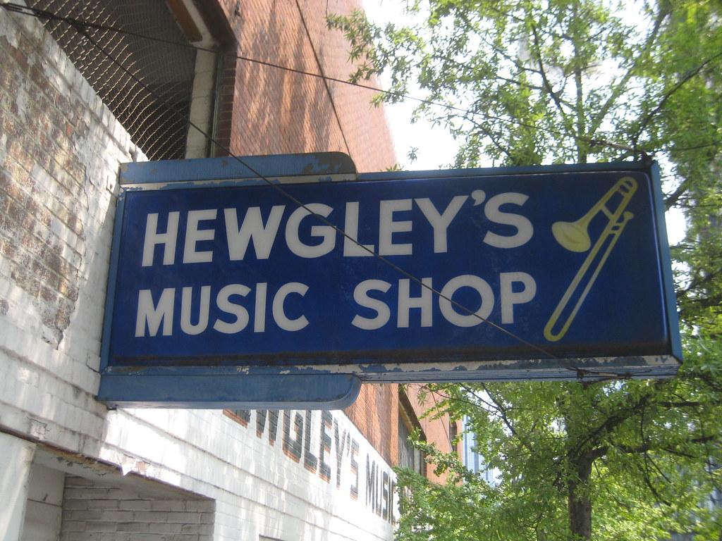 Hewgley's Music Shop - Downtown Nashville | Bill Gunter | Flickr