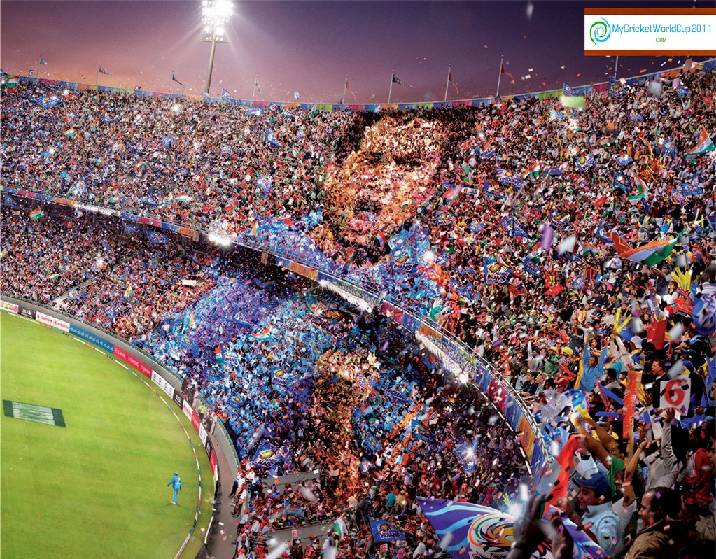 Icc Cricket World Cup 2011 Sachin Wallpaper Wallchart Flickr
