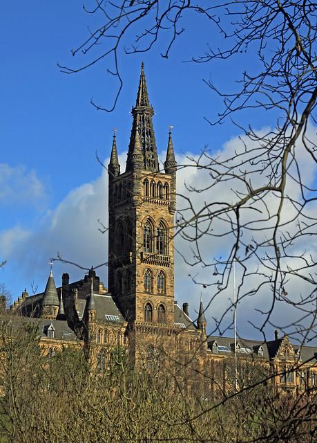 Glasgow University Tower,  Scotland