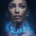 The blue necklace by Oleg Ti