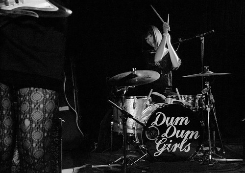 The Dum Dum Girls @ The Hi Dive   by tehgipster