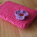 Pink Phone cover.