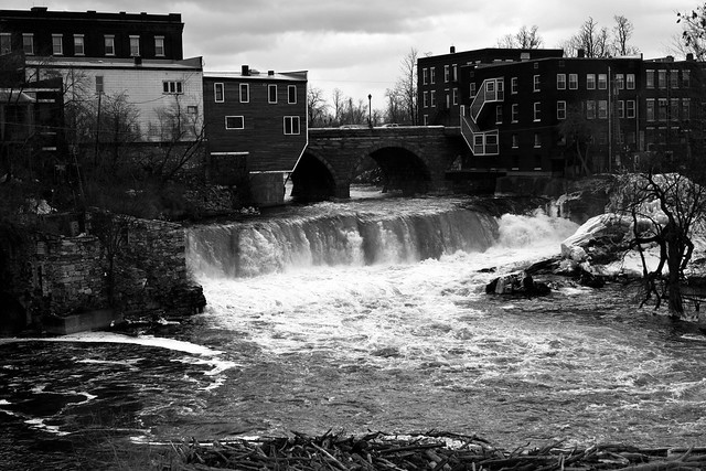 Waterfall - Middlebury, VT - 2011, Mar - 01.jpg