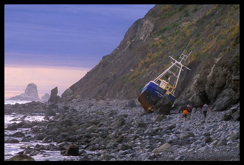 Lost Coast Shipwreck