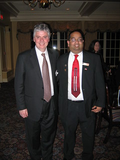 Dean Alan Cramb and Sandeep Nandy | by Dave Aiello