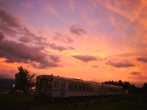 sky geotagged scenery hokkaido 武蔵大学サイクリング部 2003hkushiro 2003hkushiro2 geo:lat=43477308 geo:lon=142465596 hokkaidoscenery