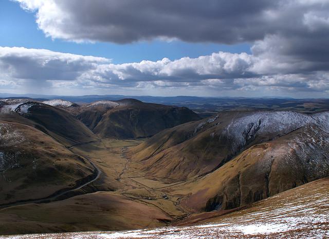 Velvet hills, scotland