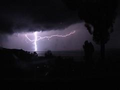 Thunder watching on Amantani island   by Erik De Leon