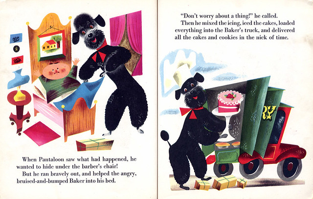 Pantaloon Little Golden Books 1951 By Kathryn Jackson border=