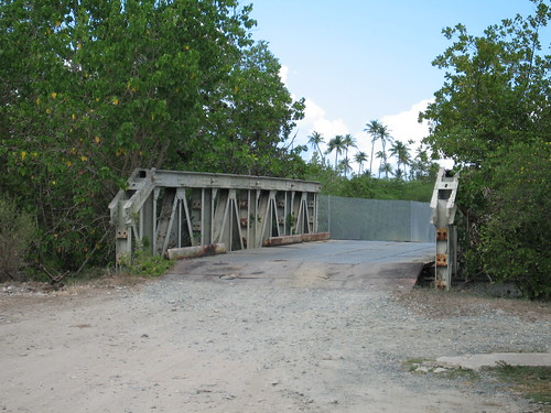One of those fun metal bridges, Western Vieques | by Tanya R.