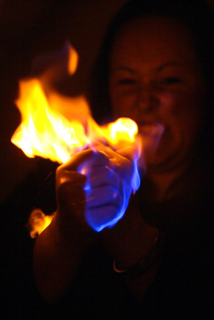 Hand Sanitizer Fire