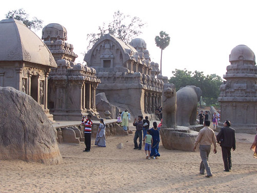 mamallapuram-more five rathas | by steven'leah