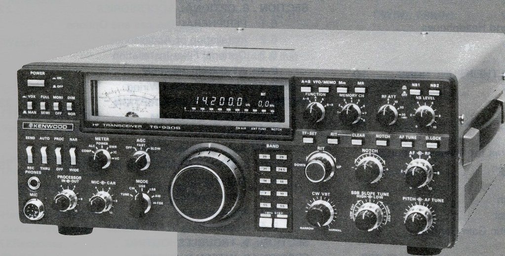Kenwood TS 930S HF Transceiver | Ham band transmitter and ge… | Flickr