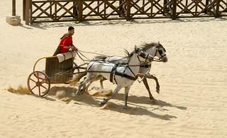 Chariot racer , Jerash , Jordan | by rikdom