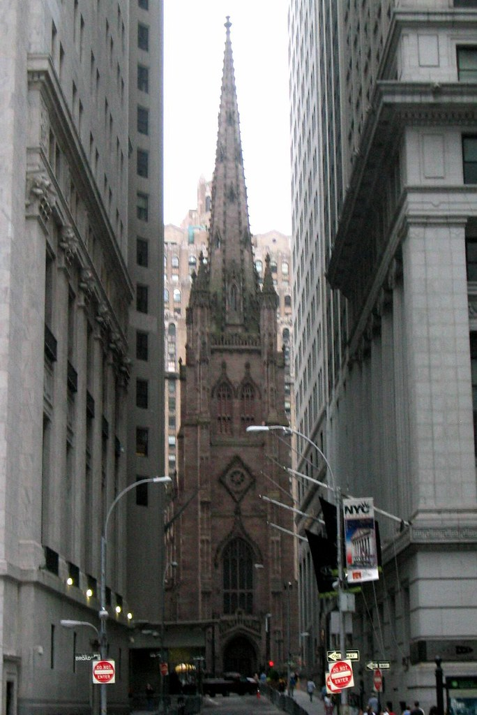 Trinity Church, Prominently