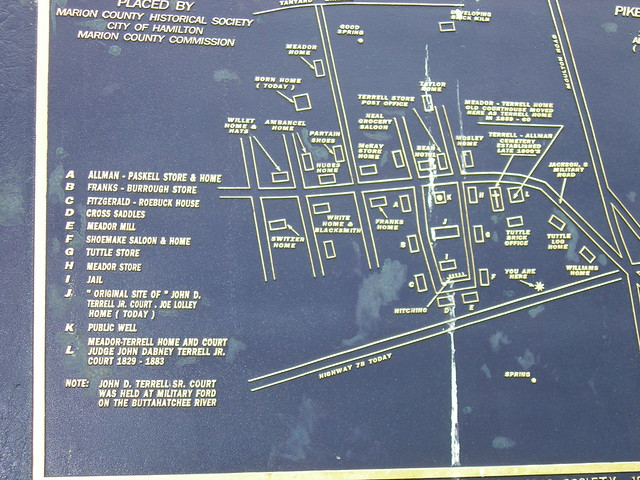 Pikeville Alabama map