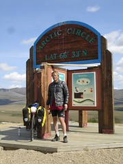 Randy at the arctic circle