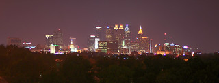 atlanta skyline | by Joel Mann