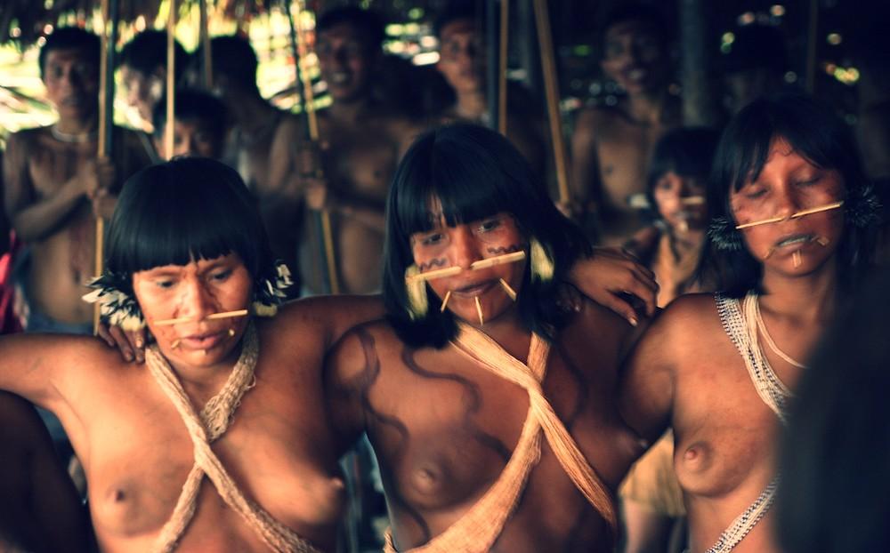индейские племена голые фото - 1